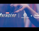 Intel announces a new tie-in with the Avengers game. (Source: Twitter)