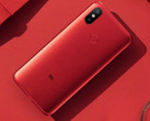 The Mi 6X comes in a brilliant red. (Source: MIUI)