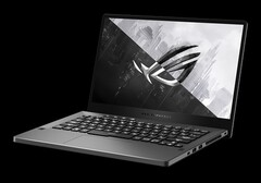 The Asus ROG Zephyrus G14 can also be fitted with an AMD Ryzen 7 4800HS APU. (Image source: Asus)