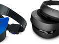 Windows Mixed Reality Headsets by Acer (left) and HP (right). (Source: Microsoft)