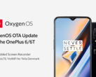 OxygenOS for the OnePlus 6 and 6T now inlcudes a screen recorder. (Source: OnePlus)