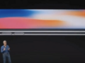 Craig Federighi of Apple during a live demo of the iPhone X. (Source: Apple)