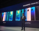 The Huawei Mate 20 range was launched in November and has been a hit for the Chinese maker. (Source: The Star)