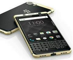BlackBerry KEYone Special Gold Plated Edition (Source: Axion Telecom)