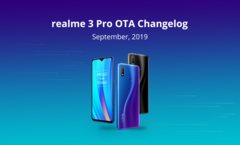 The Realme 3 Pro has a new software update. (Source: Realme)