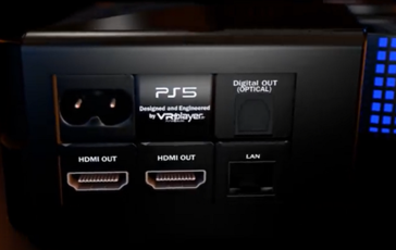 Rear connectivity. (Image source: YouTube/VR4Player.fr)