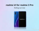 The Realme 3 Pro is getting an important update. (Source: Realme)