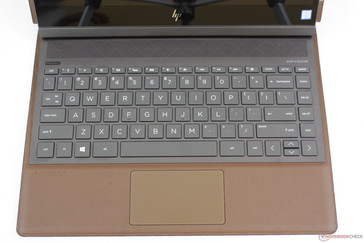 Identical key layout as on the Spectre x360 13