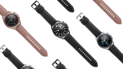The Galaxy Watch 3 will supposedly start at around US$400. (Image source: Samsung)