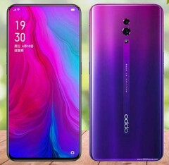 The OPPO K3 may look like this at its release. (Source: YouTube)
