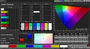 CalMAN: Colour Space - Vivid