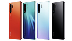 The P30 Pro comes in four colours