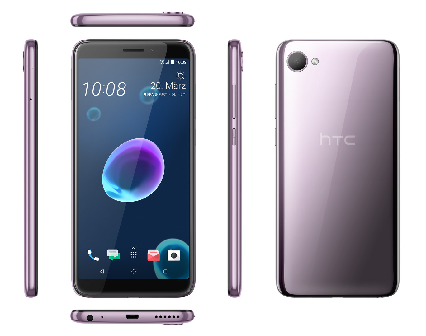 HTC Desire 12 Smartphone Review - NotebookCheck net Reviews