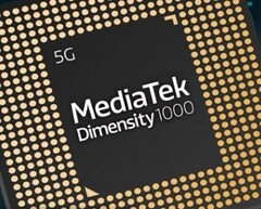 The Dimensity 1000 5G SoC is expected to hit the Chinese market in early 2020. (Source: MediaTek)