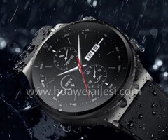 The Watch GT 2 Pro will apparently launch in two variants. (Image source: Huawei Ailesi)