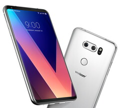 The LG V30 in its Verizon livery. (Image source: LG)