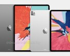 The fourth-generation iPad Pro series is expected to feature triple rear-facing cameras. (Image source: @OnLeaks & @iGeeksBlog)