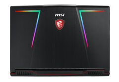 The MSI GE63 Raider models feature unique RGB lighting designs on the cover. (Source: MSI)