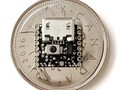 Small yet mighty: The Nionics ATTO atop of a Candian Quarter. (Image source: Nionics)