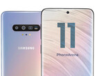 The Samsung Galaxy S11 allegedly won't feature an under-display camera. (Image source: PhoneArena)