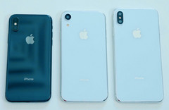 The upcoming iPhone X successor will come in three size variants. (Source: MacRumors)