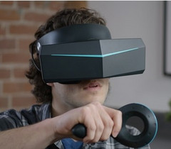 The Pimax 8K VR headset comes with dual 4K displays and a wide 200-degree field of view. (Source: Pimax)