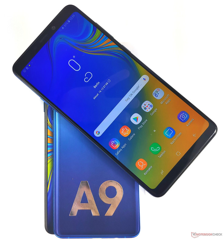Samsung Galaxy A9 2018 Smartphone Review Notebookcheck Net Reviews