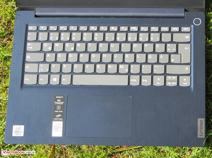 Input devices IdeaPad 3