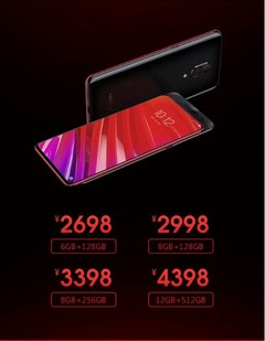 The Lenovo Z5 Pro GT is the world's first Snapdragon 855-powered phone. (Source: Weibo)