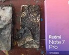 A shot of the Redmi Note 7 Pro in question. (Source: Toutiao)