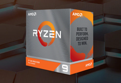 The AMD Ryzen 9 3900XT has a base clock of 3.8 GHz. (Image source: AMD)
