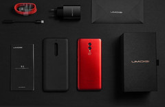 UMIDIGI sems to have a lot of love for the red-black combo.