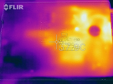 Thermal image - bottom