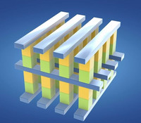 The storage structure of 3D XPoint (illustration, image: Intel)