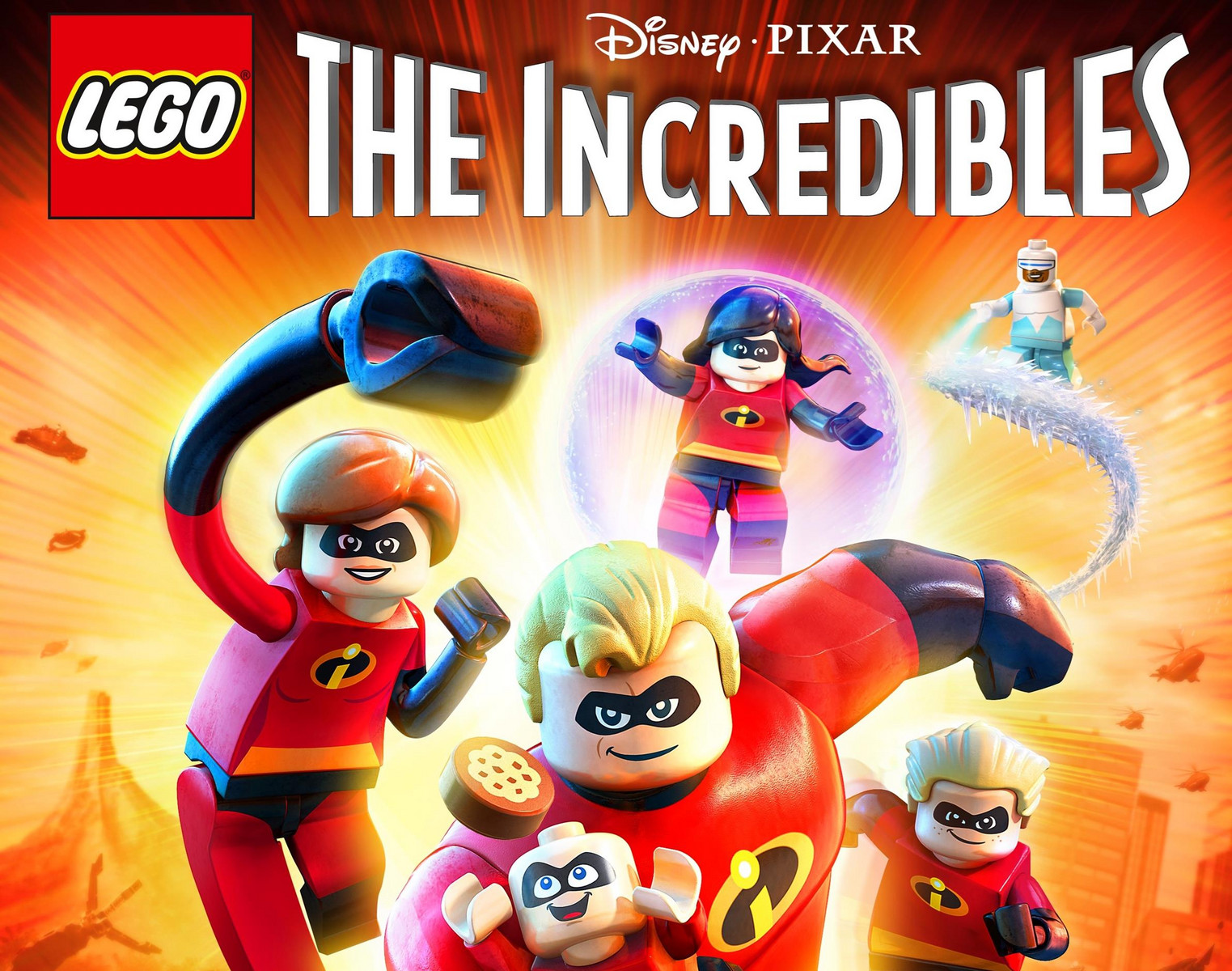 Time for The Incredibles to get a Lego video-game makeover