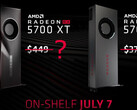 AMD has responded to the NVIDIA RTX 20 SUPER series by reducing the price of its RX 5700 series pre-launch. (Image source: Videocardz)