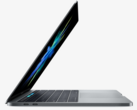 The ultra-low-profile MacBook Pro keyboard is achieved with an Apple-designed butterfly-mechanism. (Source: Apple)