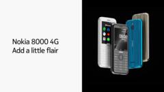 The 2020 Nokia 8000. (Source: Nokia)