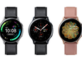 The Samsung Galaxy Watch Active 2 has 44 mm and 40 mm variants. (Image source: Samsung)