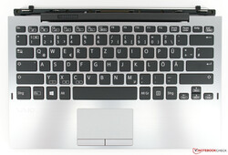 A look at the VAIO A12's keyboard dock