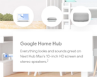 Google leaked its apparently upcoming Nest Hub Max device. (Source: Android Police/Google)