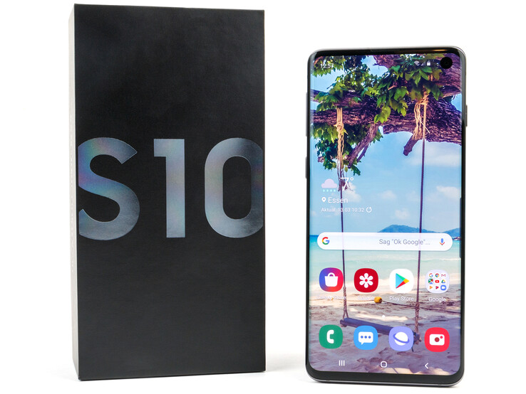 Samsung Galaxy S10 Smartphone Review - NotebookCheck net Reviews