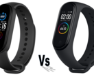 Xiaomi Mi Band 5 vs Mi Band 4 comparison. (Image source: Xiaomi - edited)