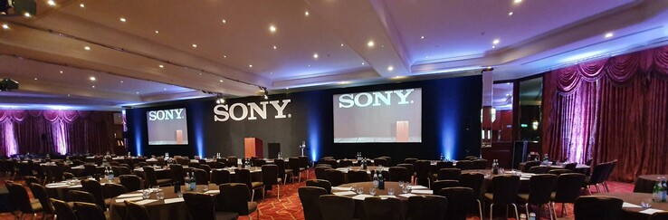 Sony meeting room where the details were allegedly obtained. (Image source: Reddit - u/17791)