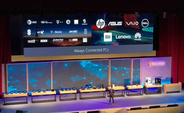 Microsoft partners for the Always Connected PC initiative.