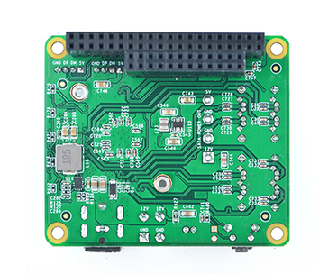 A look at the FriendlyElec SATA HAT expansion board for the NanoPi M4 (Image source: FriendlyElec)