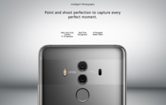 The camera has been a major advertising focus for Huawei since their partnership with German camera maker, Leica. (Source: Huawei)