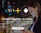 BlackBerry and Google bring Android to work website, redirected from AndroidSecured.com