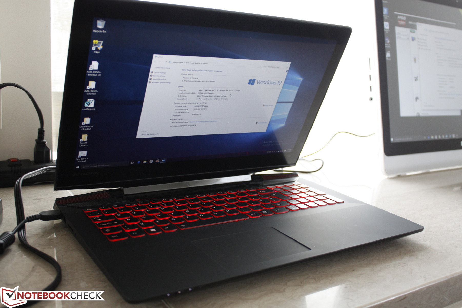 AMD shows off Lenovo Y700 with FX-8800P APU - NotebookCheck net News