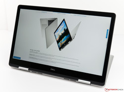 17-inch touchscreen